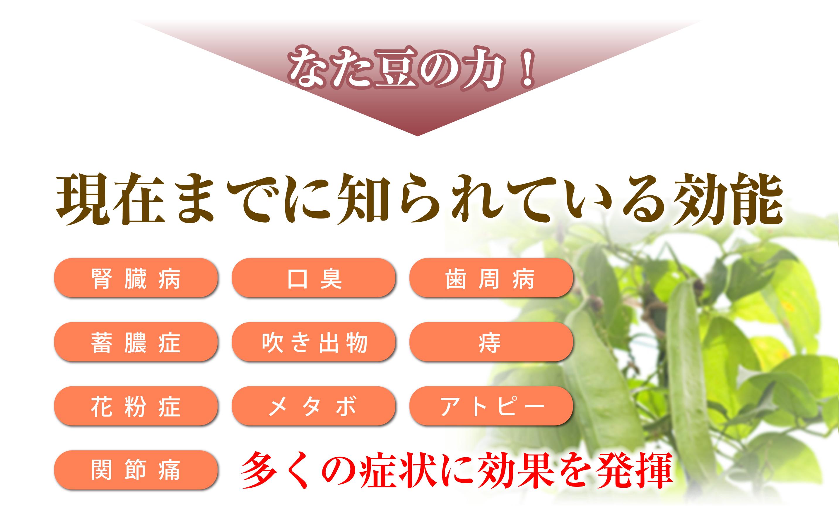 な た 豆 茶 効能